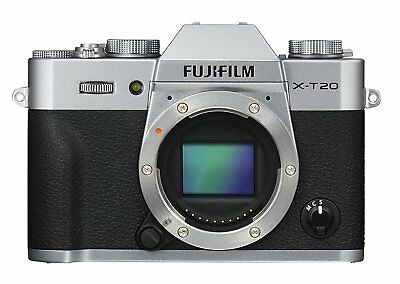 FUJIFIM X-T20 24.3MP Digital Camera Body Only Silver EMS w/ Tracking NEW