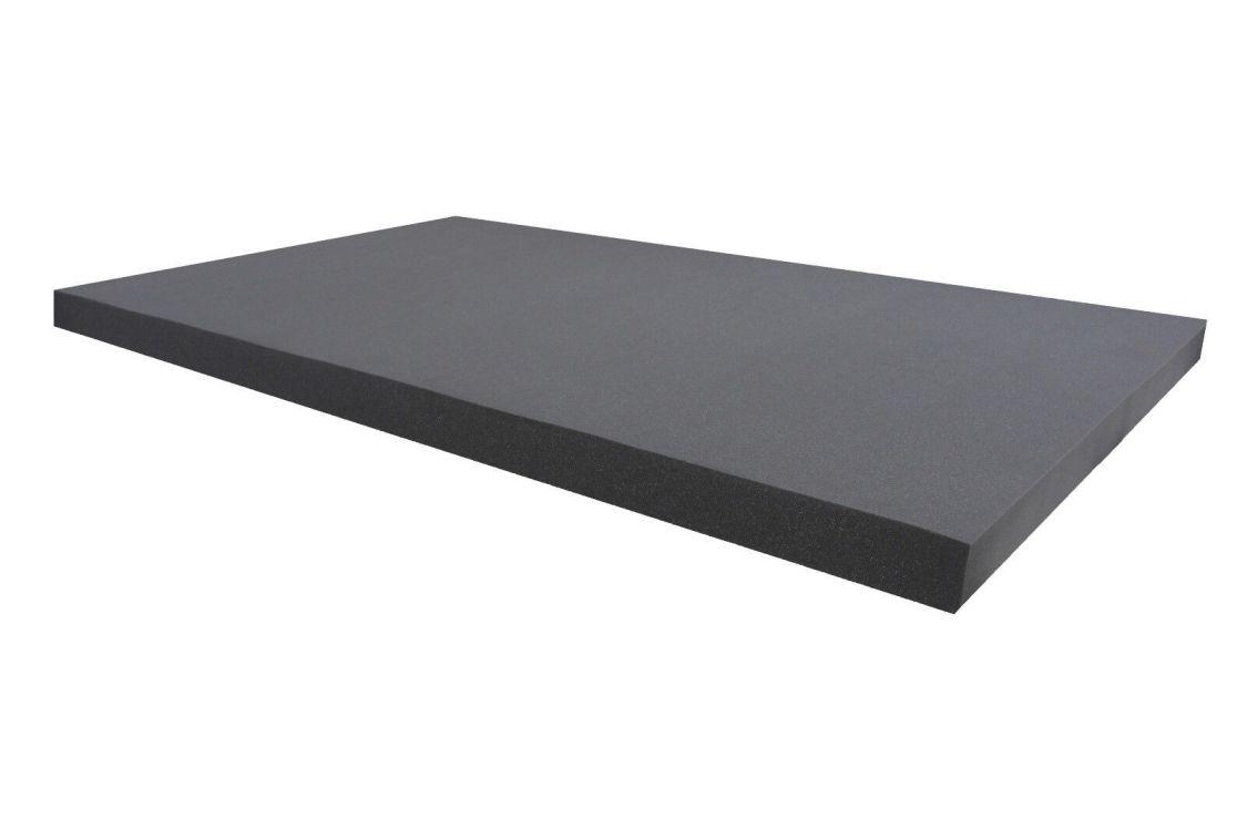 Dibapur ® Akustikpur glatt schwarz Raum Akustik Schaumstoff Dämmung Schallschutz