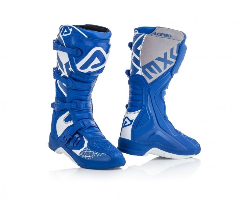 stivali cross enduro Acerbis X-Team colore blu bianco 0022999.245