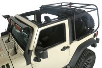Exo-Top Soft Top & Roof Rack Jeep Wrangler JK 2007-16 2D ...