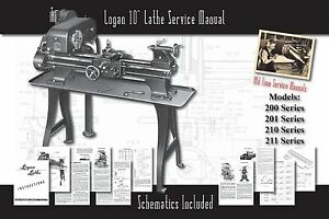 Logan-10-Lathe-Models-200-201-210-211-Owners-Service