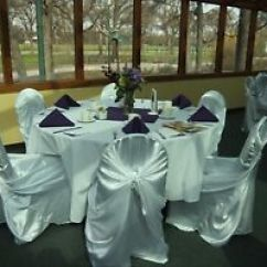 Chair Cover Rentals Durham Region Office Not Staying Up Find Or Advertise Wedding Services In White Satin Universal Covers 75 Rental