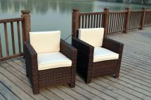 Single Chairs Rattan Wicker Conservatory Outdoor
