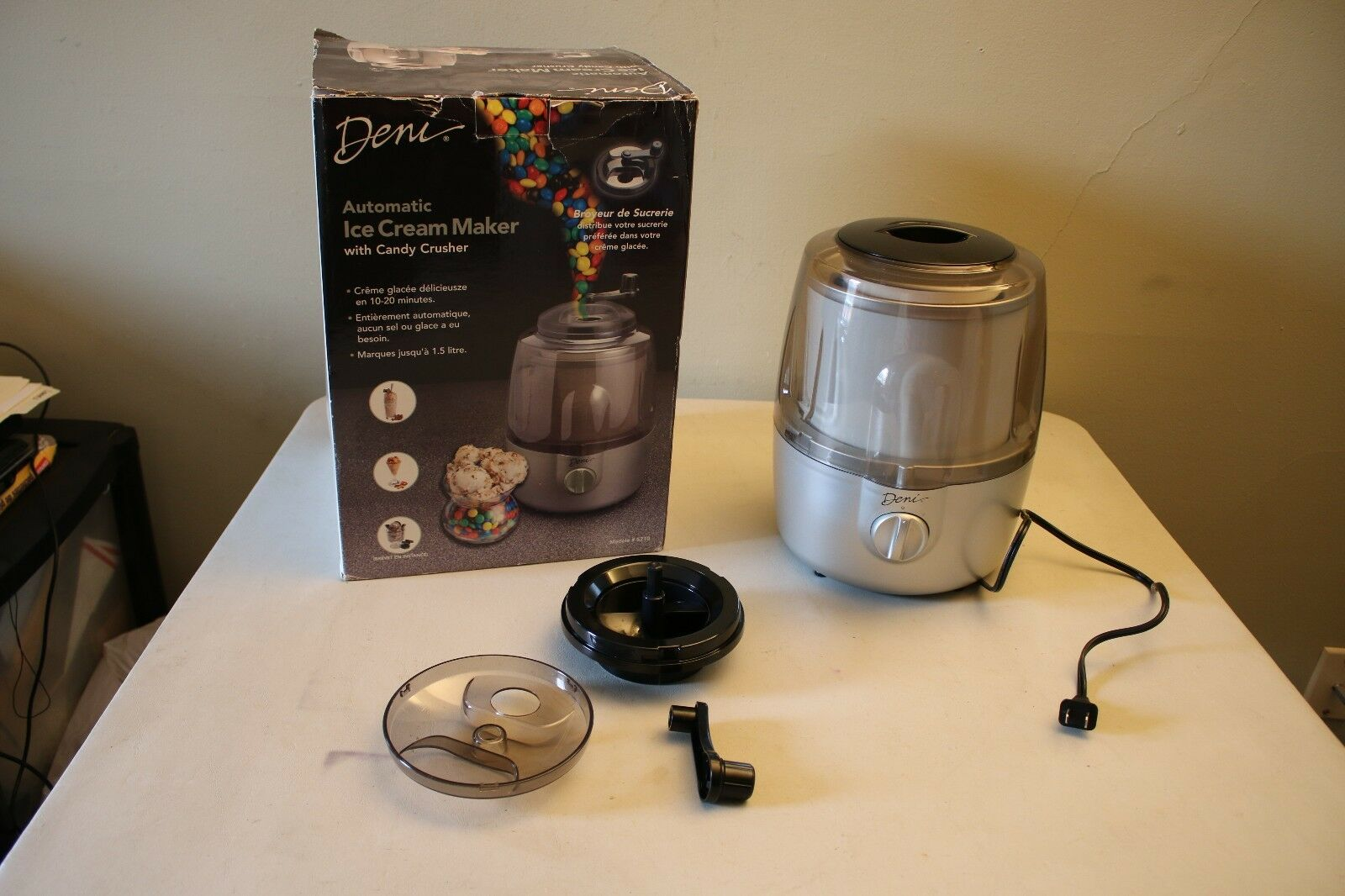 Deni Automatic Ice Cream Maker
