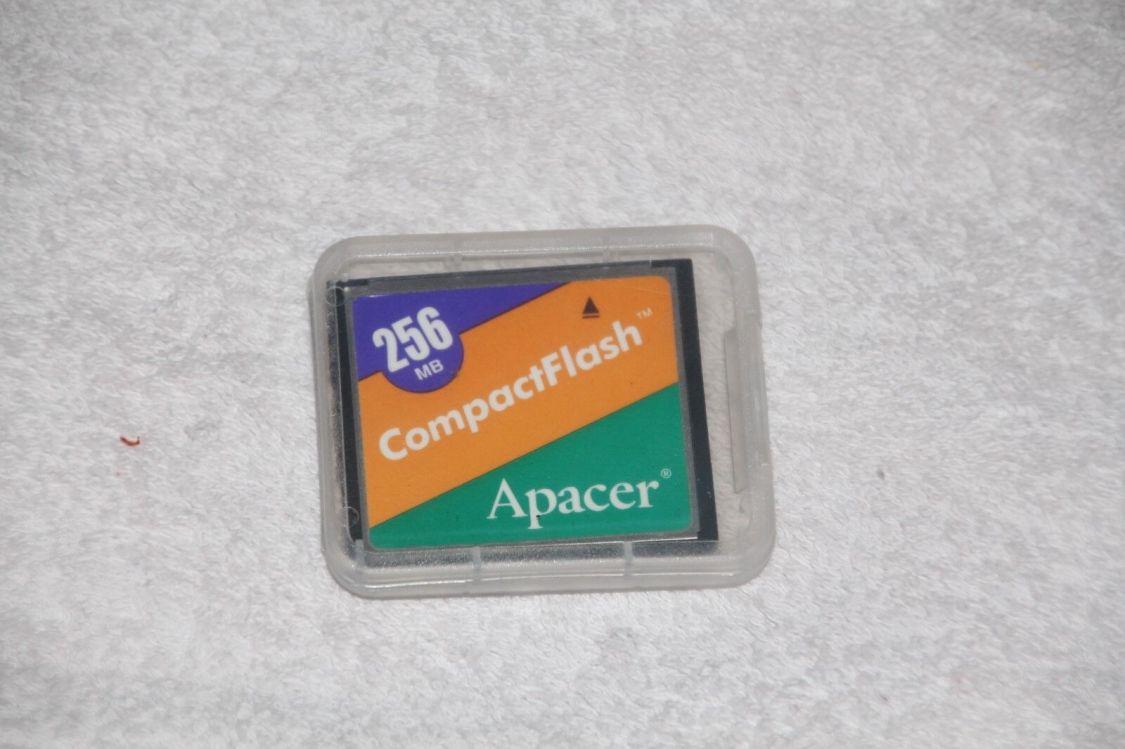 Compact Flash 256 MB Apacer Karte