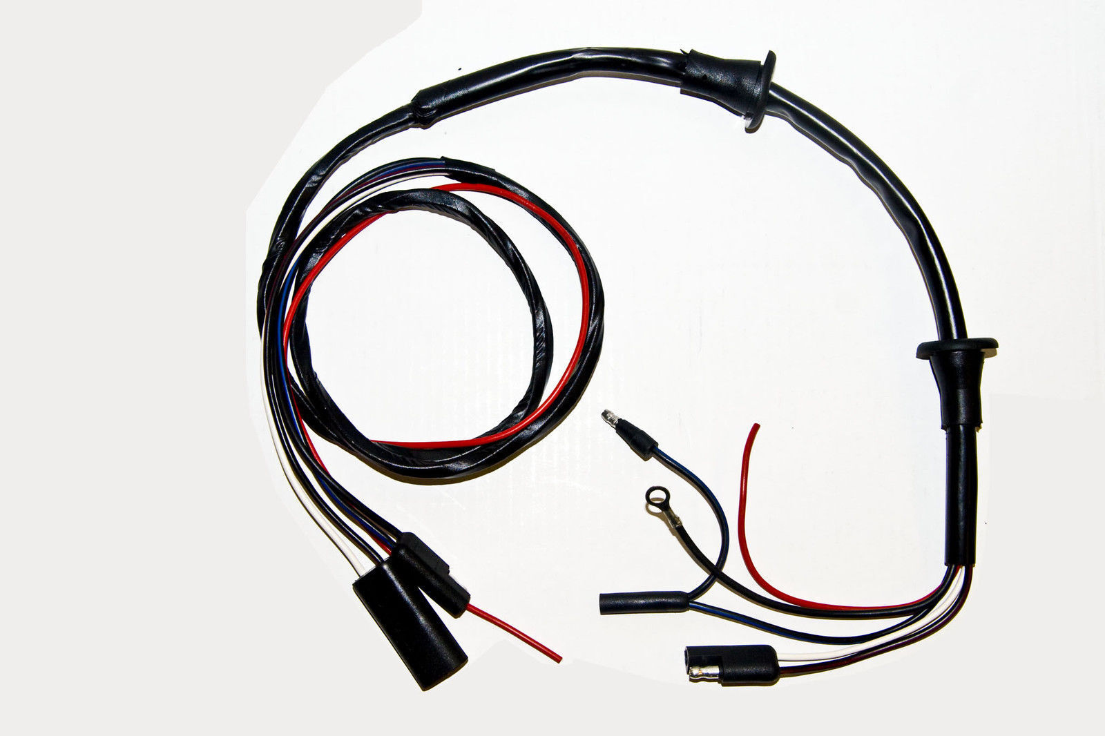 1967 1968 ford mustang door courtesy light and speaker wire harness [ 1600 x 1066 Pixel ]