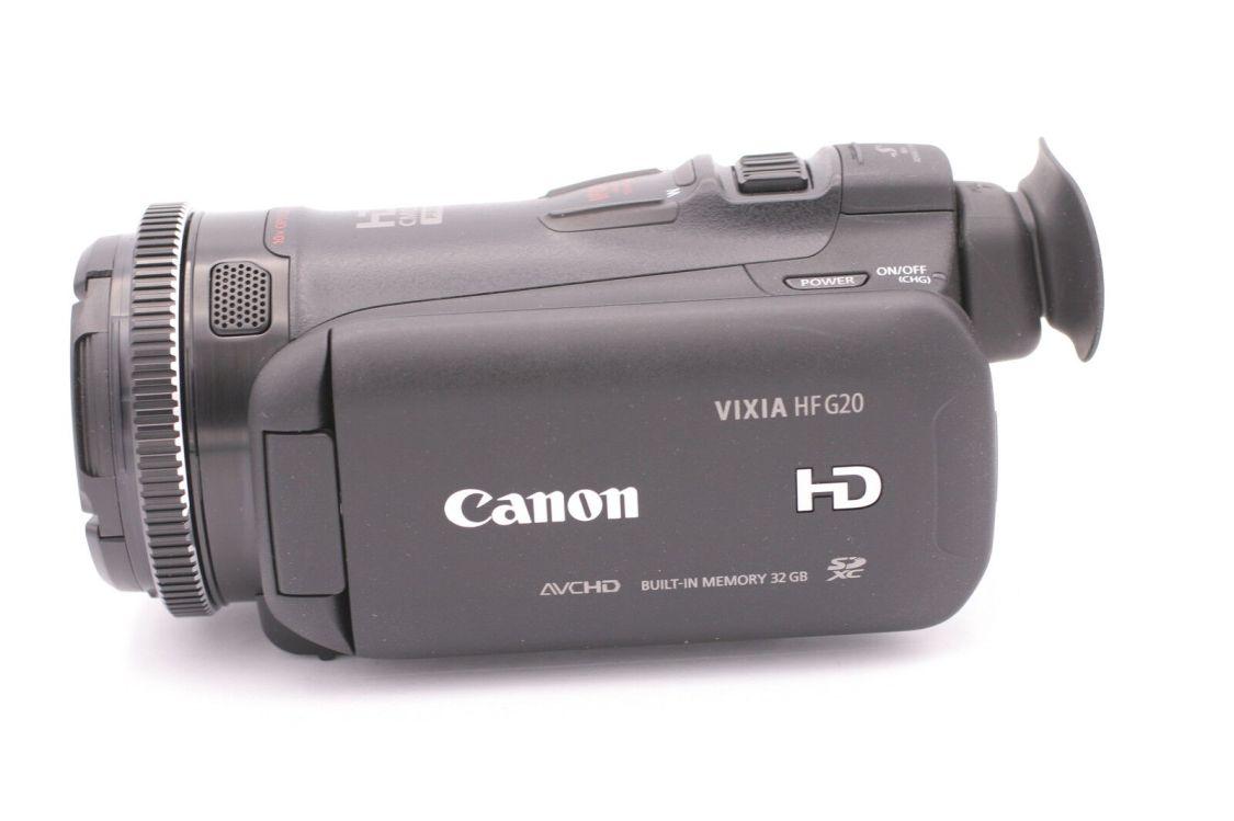 Canon Vixia HF G20 32GB HD Flash Memory Camcorder - Schwarz