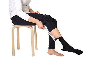Profi Anziehhilfe Socken Strümpfe Strumpfanzieher Senioren Hilfsmittel Hilfe