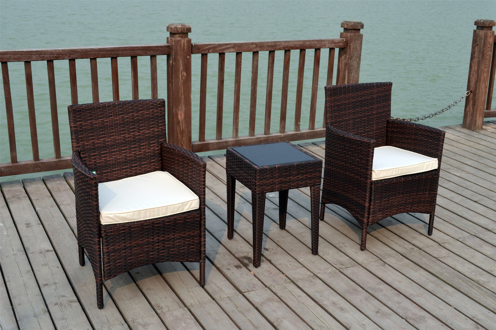 2 chair bistro set adirondack chairs resin target seater rattan wicker conservatory outdoor