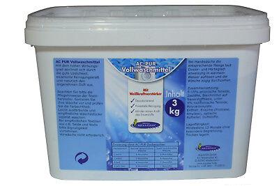 AQUA CLEAN PUR Vollwaschmittel 3kg