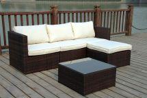 Corner Rattan Garden Furniture Sets