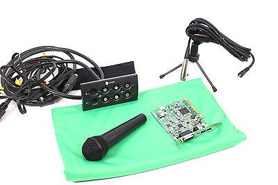 PINNACLE BigBen-51016499 1.2B Videoschnittkarte Mikrofon Breakout Box PCI Karte