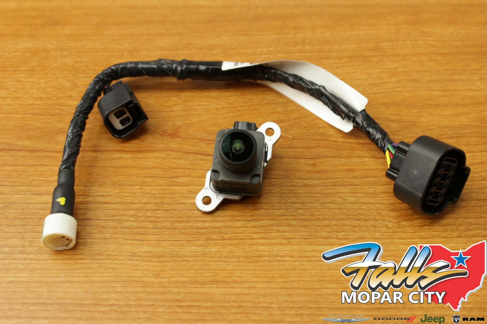 hight resolution of 2013 2017 dodge ram 1500 2500 3500 rear view camera wire harness kit mopar oem