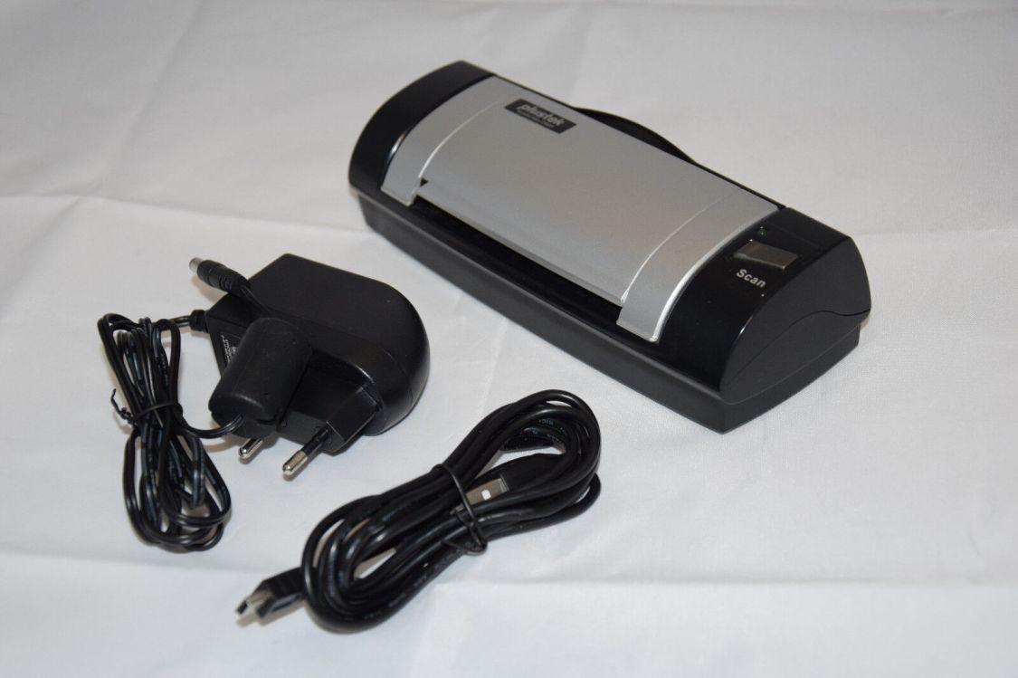 Scanner Plustek MobileOffice D600 duplex Farbscanner Dokumentenscanner Apotheke