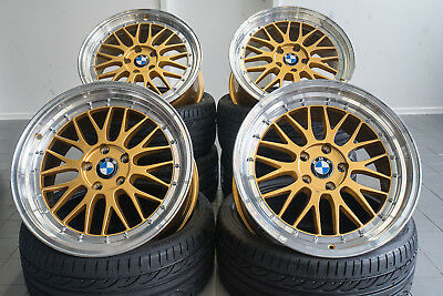 18 Zoll UA3 5x120 Alu Felgen Gold für BMW e46 e82 e90 e91 F10 F20 M Performance