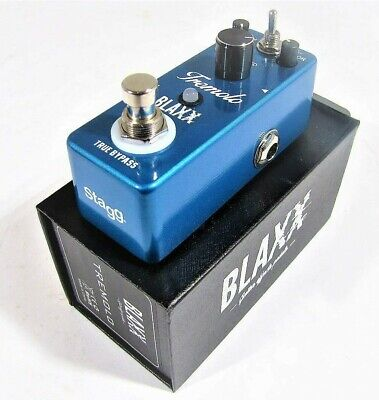 Stagg Blaxx Tremolo Pedal Compact Mini BX-TREMOLO Effects FX