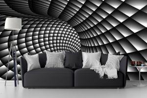 abstract living murals swirl adhesive self painting