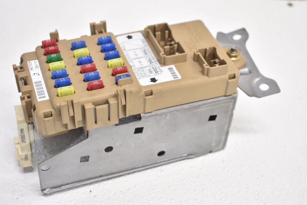 medium resolution of details about 2005 2007 subaru impreza wrx or sti interior fuse relay box panel 05 07