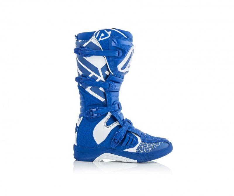 stivali cross enduro Acerbis X-Team colore blu bianco 0022999.245 4