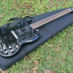 Gibson Sg Epiphone Corsa D Wiring Diagram Custom Shop 3961 Les Paul Reissue In Black With