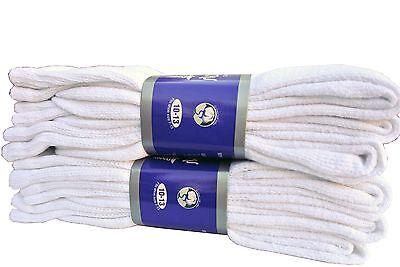 Diabetic WHITE CREW Socks circulatory Health  Men's Women's Cotton ALL SIZE  5