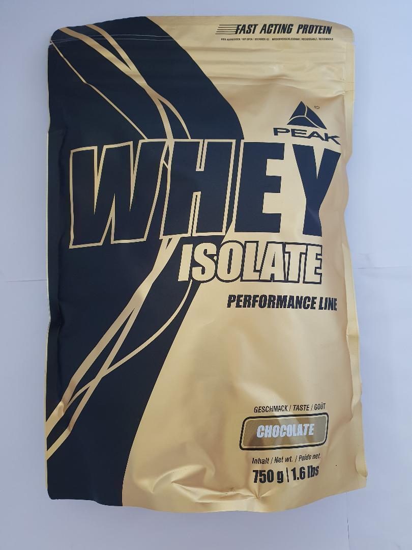 Peak Whey Isolate 750g Molkenprotein Isolat Muskeaufbau  Bonus Gratis Shaker