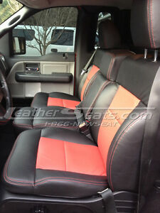 2004 2008 Ford F 150 F150 Regular Cab Leather Seat Covers