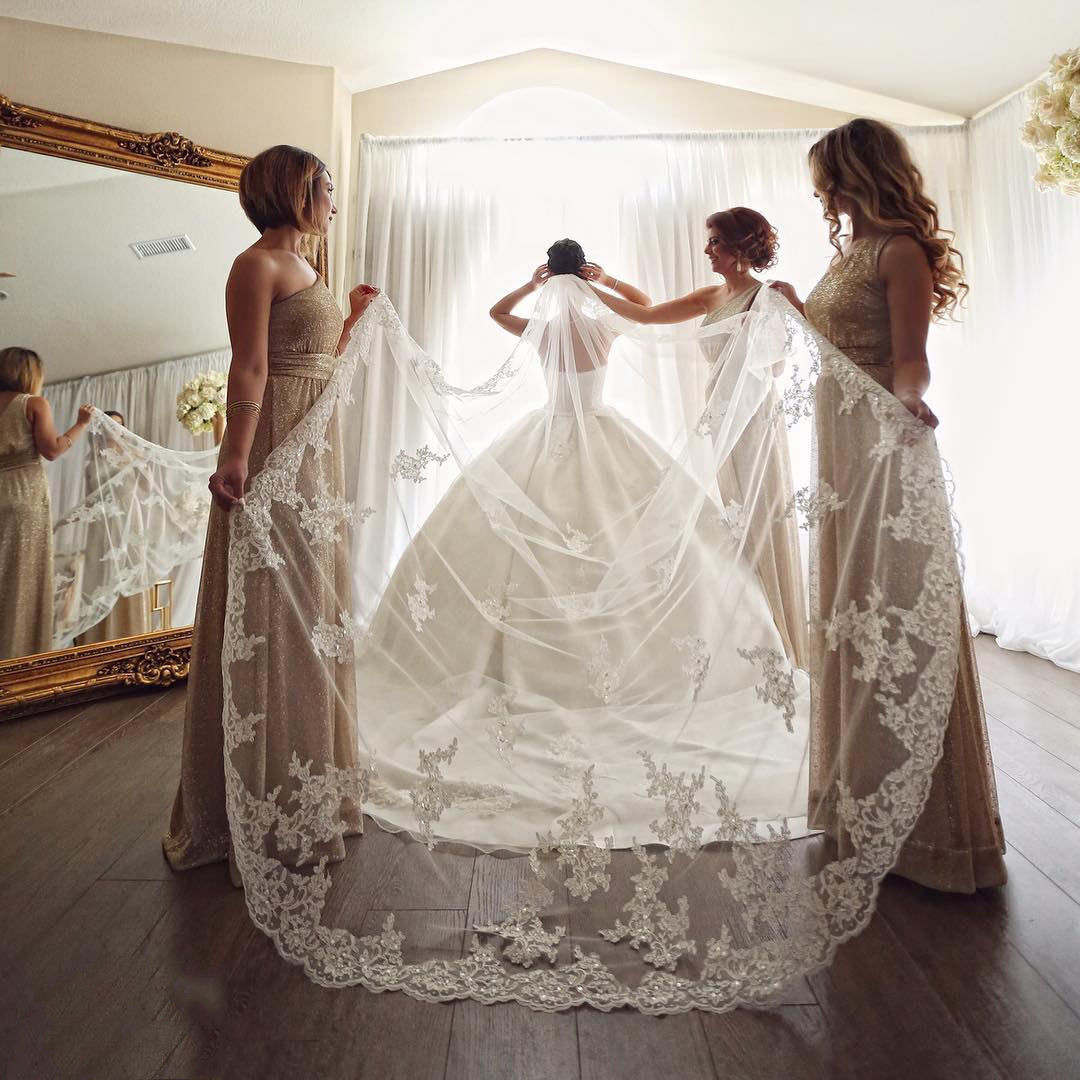 bling crystal beads bridal