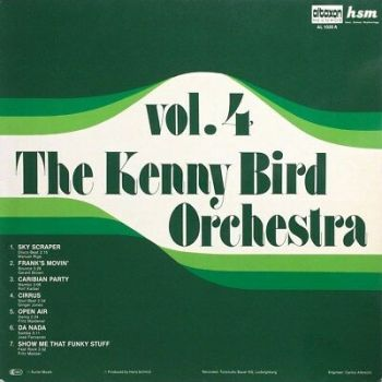 The Kenny Bird Orchestra Lado's Latin Combination ‎DA NADA Brazil Bossa Library!
