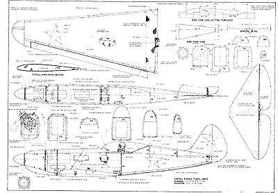 RC Plans, Templates & Manuals, RC Model Vehicle Parts