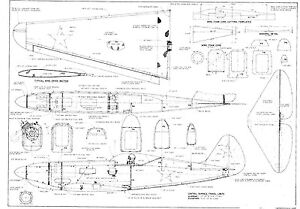 Vintage Boat Wiring Diagram Free Download Schematic 1500 Rc Model Airplane Plane Plans With Bonus Free Gift