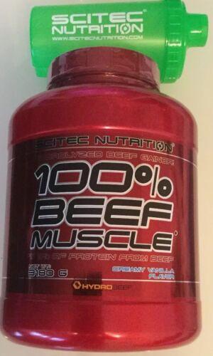 12,89€/kg)SCITEC Beef Muscle 3180g Rinderprotein Eiweiß 100% natürliches Produkt