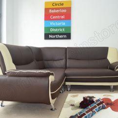Cream Leather Sofa Set Uk Sleeper Couch New Passero Faux Corner Suite Black And White