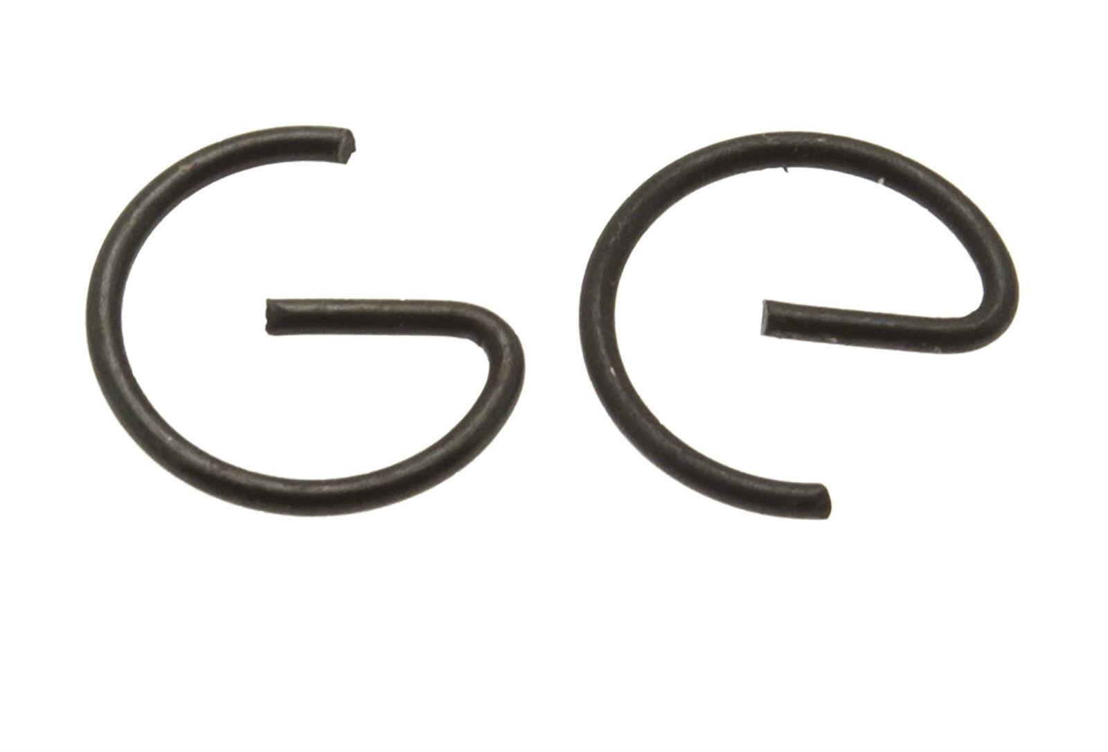 Pair Of Piston Pin Circlips Fits STIHL TS400 TS410 TS420