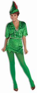 Peter Pan - Adult Women's Costume