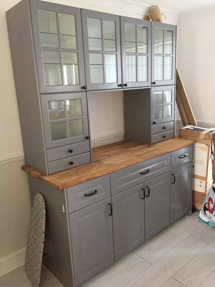 ikea kitchen island for sale wall clock metod unit | in southsea, hampshire gumtree