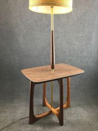 Mid Century Danish Modern Pearsall Style Brass & Walnut ...