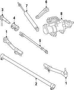 Ford 05 10 F 250 Super Duty Steering Drag Link AC3Z3304B