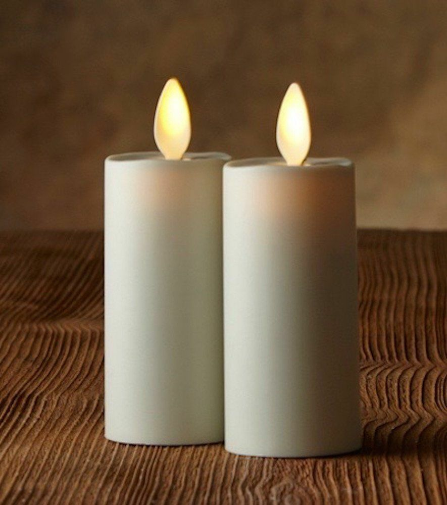 Luminara Moving Wick Flameless Candles
