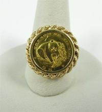Gold Coin Ring | eBay