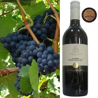 Dornfelder halbtrocken feinfruchtig 2015 vom Weingut Pfalz 6 Fl Rotwein prämiert