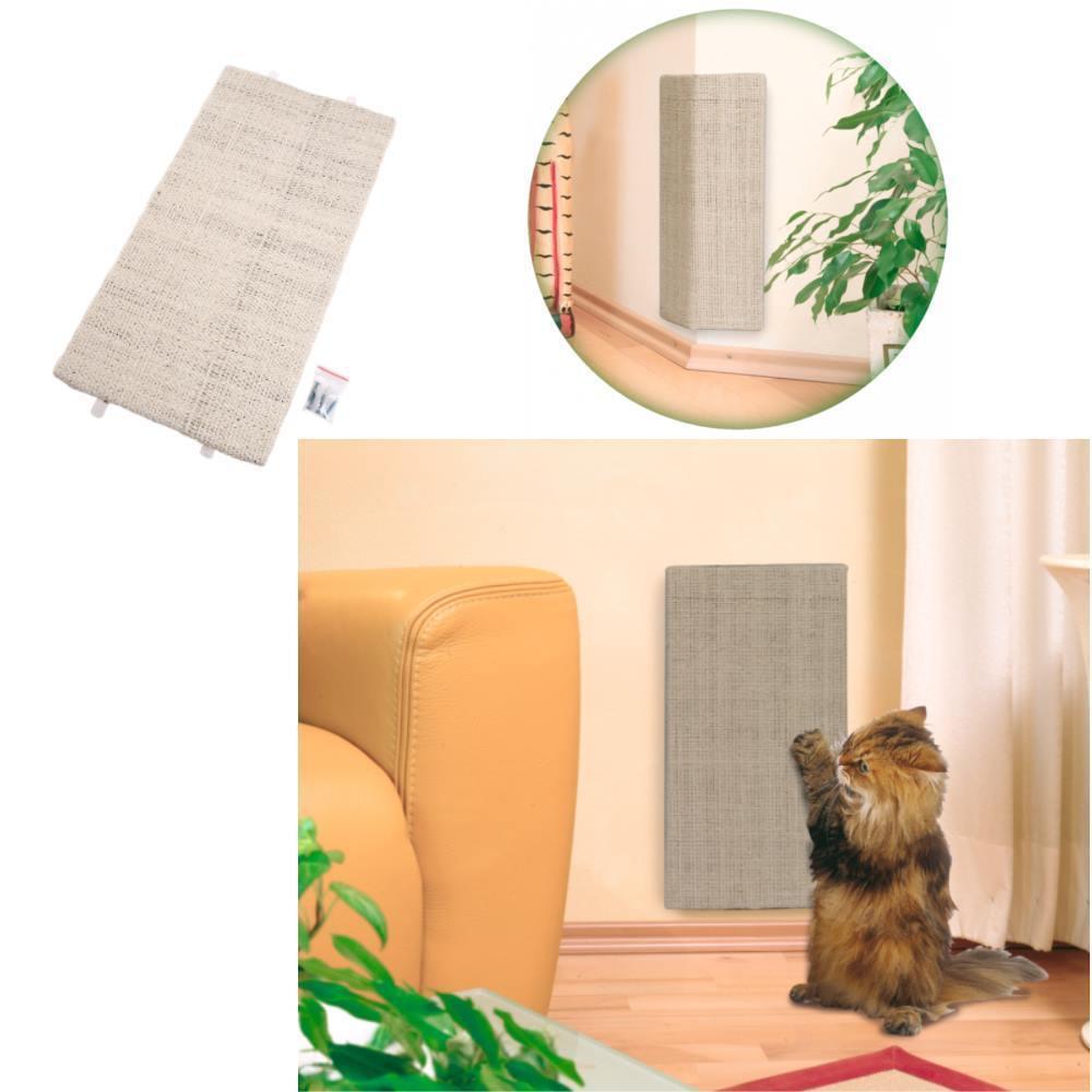 Sisal Eck- Kratzbrett für Katzen 52 x 28 cm - für Innen- Außenecken - 46242