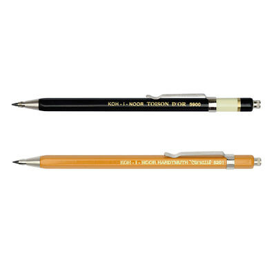 Druckbleistift 2 mm KOH-I-NOOR 5900 CL / 5201 CL - Fallbleistift Fallminen Stift