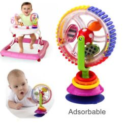 High Chair Suction Toys Dining Room Covers Au Toy Ebay Children Educational Rainbow Ferris Wheel Rattle Clanking