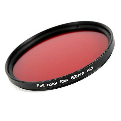 Farbfilter Rot / Red 62 mm