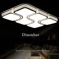 80W LED Deckenleuchte Deckenlampe Wohnzimmer Flur