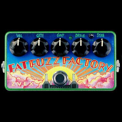 Z.VEX ZVex Effects Pedal, FAT FUZZ FACTORY VEXTER, Brand New in Box