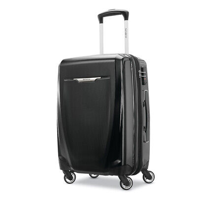"Samsonite Winfield 3 DLX Spinner 25"" Checked Luggage - (Black) - (120753-1041)"