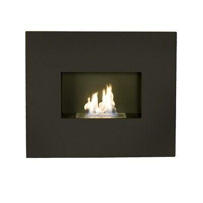 Bio Fires Black Graphite Onyx Wall Hanging Bio Ethanol Fire RRP £445