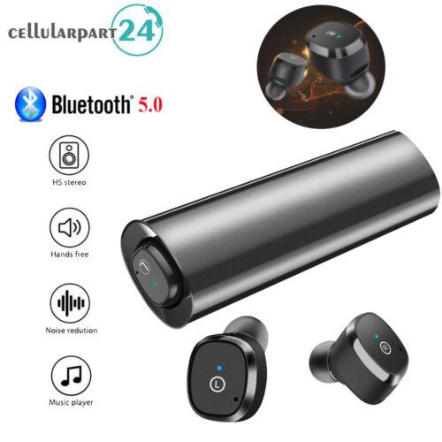 TWS Wireless Headset Kopfhörer Bluetooth 5.0 Stereo Ohrhörer Für iPhone X 8 AptX
